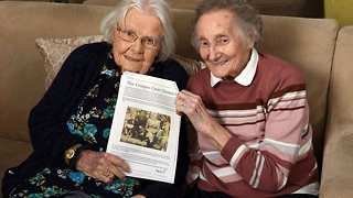 Elderly best friends finally reunited in care home after 70 years apart