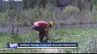 Team Rubicon and the BLM train Idaho veterans to fight wildland fires - Video