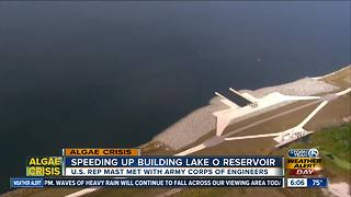 U.S. Rep. Brian Mast to update plans to build Lake Okeechobee reservoir - Video