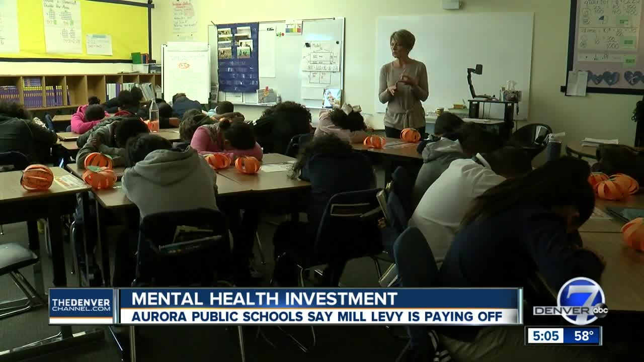 A bigger focus on mental health is paying off at Aurora Public Schools