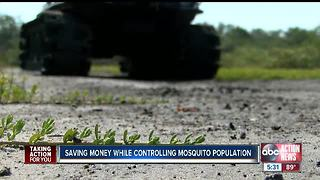 Hillsborough County is saving money while controlling mosquito population - Video