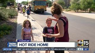 Parents: Kids struggling with no A/C on bus - Video