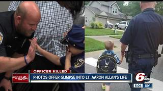 Photos of Lt. Aaron Allan gives look into his service