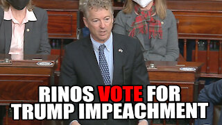 Senate Accepts Impeachment Trial - 5 RINOs Vote in Favor!