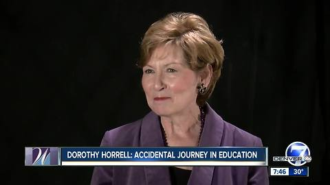Dorothy Horrell, Colorado Women's Hall of Fame Class of 2018