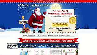 Santa letters company in Sarasota accused of scamming customers gets sued | WFTS Investigative Report - Video