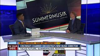 New Musical Director Takes Over Cincinnati Chamber Orchestra - Video