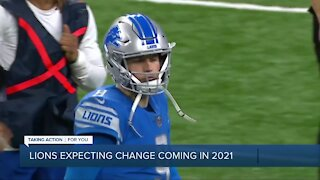 Lions expecting change coming in 2021