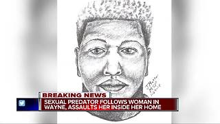 Wayne police release sketch of suspect wanted in rape and assault of woman - Video