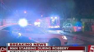 Man Mugged, Stabbed By Teens In Nashville - Video