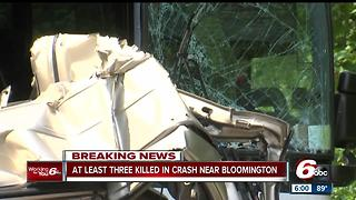 Three people killed in crash involving Miller Transport bus in Monroe County - Video