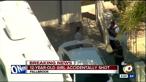 12-year-old girl accidentally shot in Fallbrook