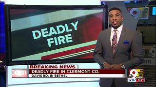 At least 1 dead in Clermont County fire - Video