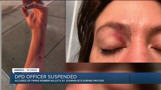 1 Detroit police officer suspended after protest incident, several other investigations underway