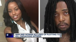 Woman arrested in murder of witness in boyfriend's carjacking case