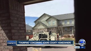 'Thumping' concerning Adams County homeowners