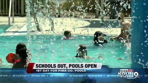 Pima County Pools are now open