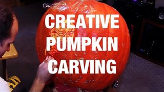 How to Carve a Pumpkin Creatively - Video