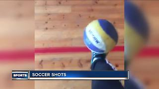 Young Norway soccer player has a knack for trick shots - Video