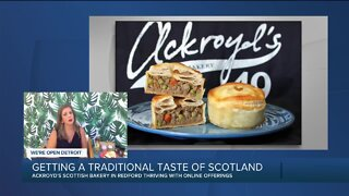 Getting a taste of Scotland with Ackroyd's Scottish Bakery