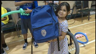 Free school supplies and bikes for North Las Vegas students