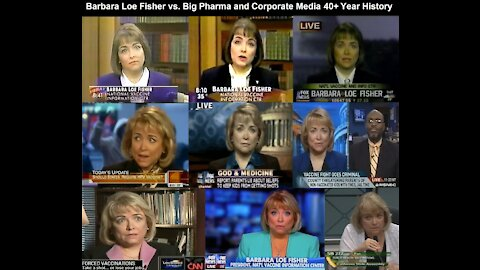 Barbara Loe Fisher vs. Big Pharma and Corporate Media 40+ History - Champion of Informed Consent