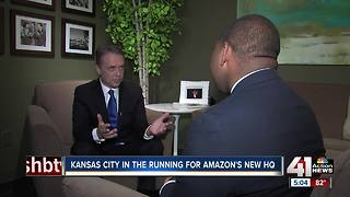 Colyer: Kansas 'great place' for Amazon's HQ - Video