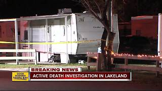 Deputies conduct death investigation on East Peachtree Street in Lakeland - Video