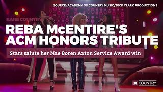 Reba McEntire's ACM Honors Tribute | Rare Country - Video