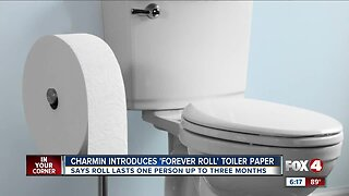 Charmin designs the forever roll