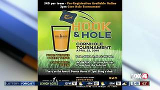 2nd annual cornhole tournament in Naples 8:45 AM - Video