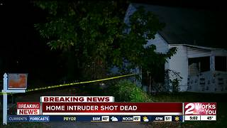 Homeowner shoots and kills intruder in Sand Springs - Video