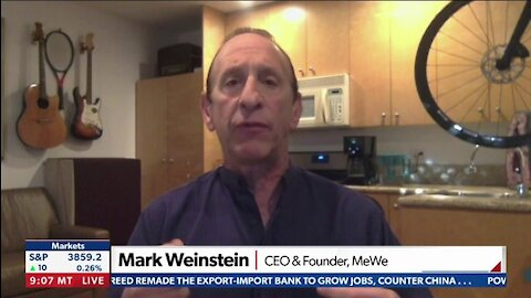 Mark Weinstein / CEO & Founder, MeWe - FACEBOOK ALTERNATIVE GROWS AFTER CONSERVATIVES SILENCED ON SOCIAL MEDIA