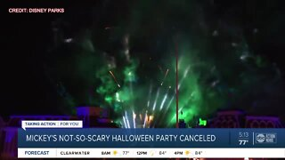 Disney World cancels Mickey's Not-So-Scary Halloween Party
