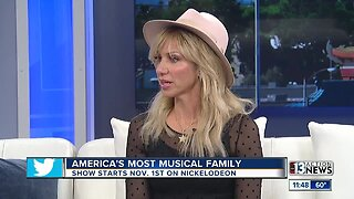 Debbie Gibson stars on America's Most Musical Family