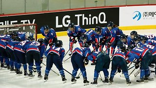 Joint Korean Women's Ice Hockey Team Loses First Game - Video