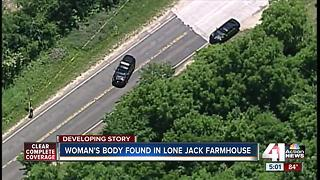 Woman found dead in abandoned Jackson County farm house, police investigate homicide - Video
