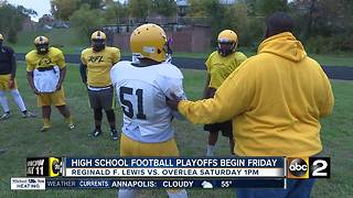 Reginald F. Lewis enters playoffs 10-0... again - Video