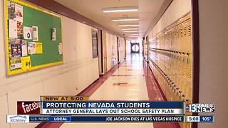 Attorney General releases report aimed at protecting Nevada schools