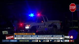 Former Punta Gorda police officer case management hearing - Video