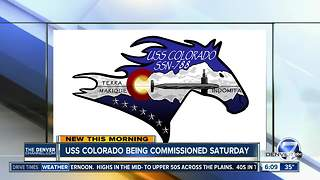USS Colorado being commissioned Saturday