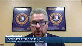COVID-Related Discipline in Schools