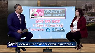 Community Baby Shower: BabySteps