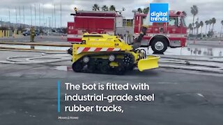 A real firefighting robot!