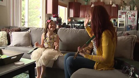 Loveland girl living with rare disorder surprised with a playdate from a singer just like her