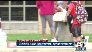 Muncie busing issue 'better, but not perfect' - Video