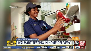 Walmart to deliver groceries inside your fridge when you're not home