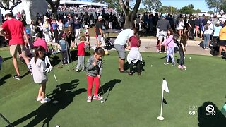 Family day at The Honda Classic