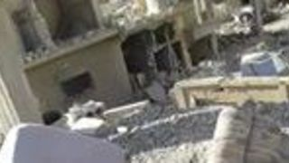 Smoke Seen Rising in Deir Ezzor After Airstrikes Cause Major Damage - Video