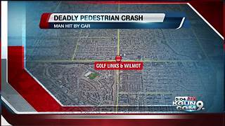 TPD investigating fatal pedestrian collision near Golf Links and Wilmot - Video
